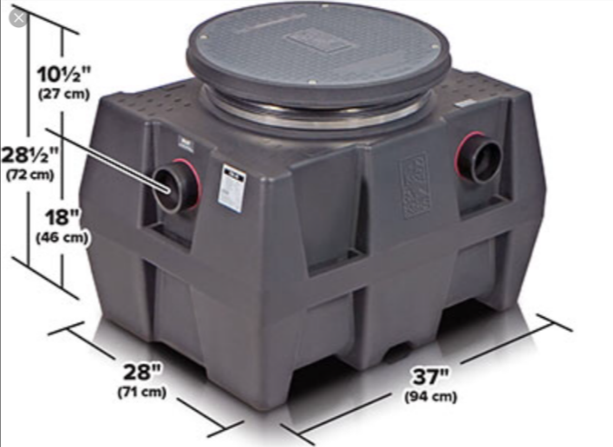 Schier Plastic Grease Trap