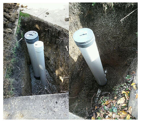 Flood Control Installation – Check Valve & Cleanout – Brookfield, Illinois