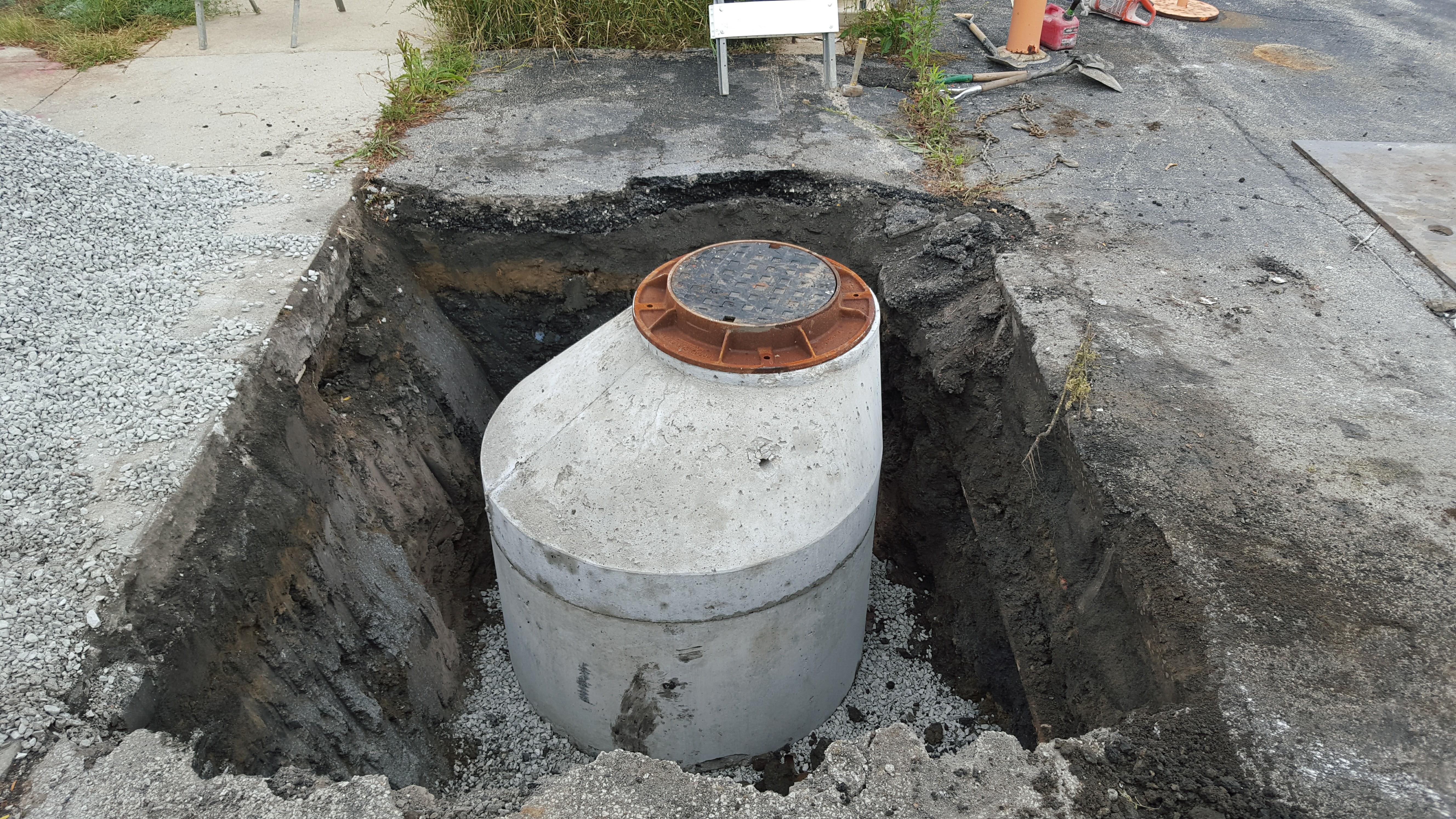 Catch Basin Storm Sewer