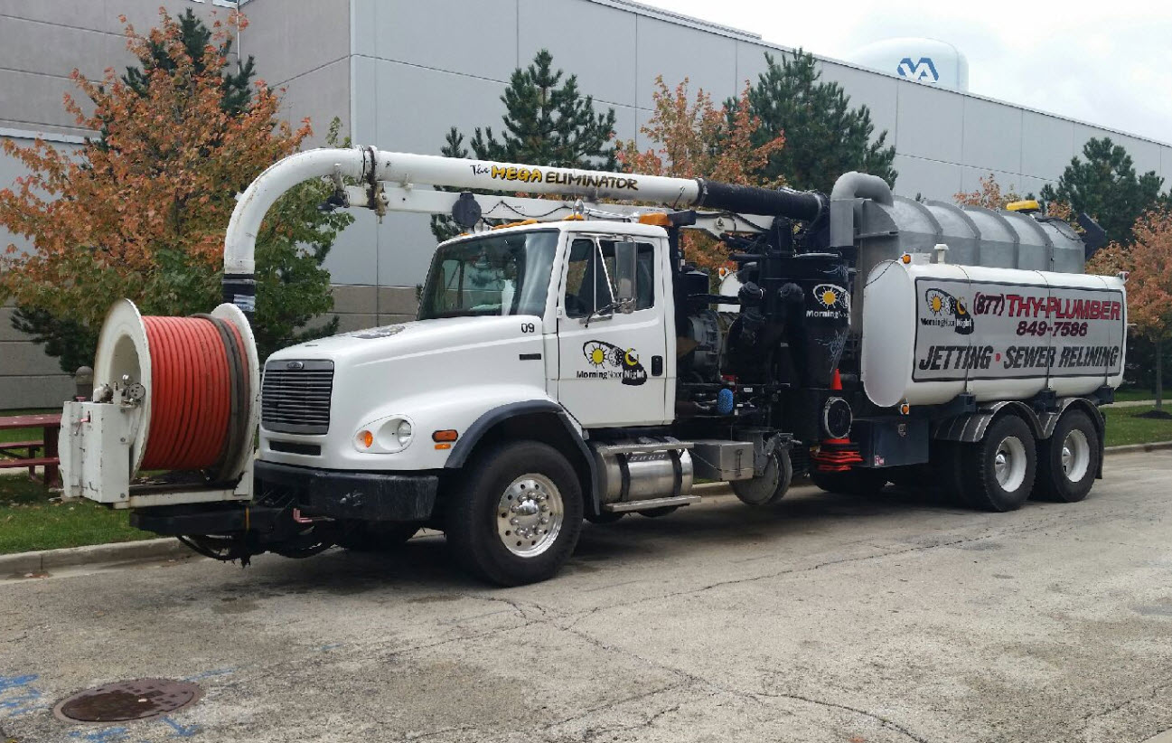 Jetting, Industrial Sewer Services, Pumping, Vactor / Vacuum Truck, Water Main Breaks - Franklin Park, IL